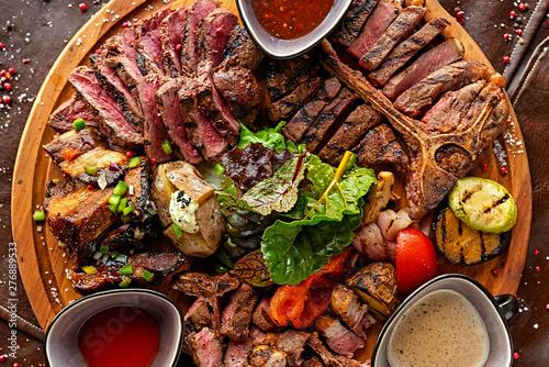 Canvastavla Steak