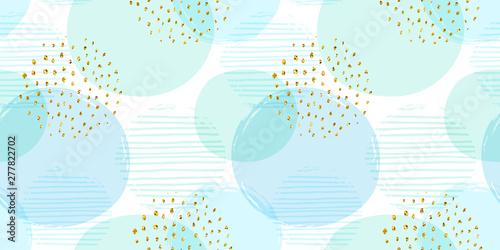 Streszczenie geometryczny wzór z okręgami. Nowoczesny projekt abstrakcyjny