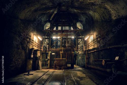 Dark old Mine in Germany