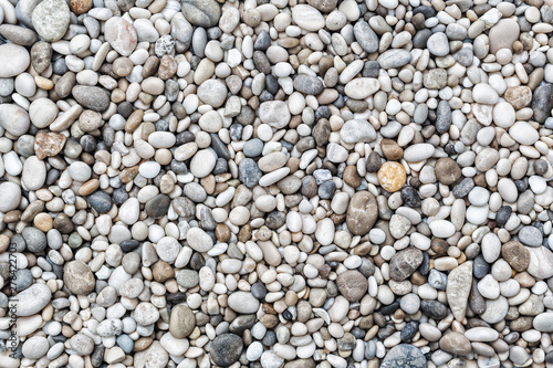 Sea pebbles background Fototapeta