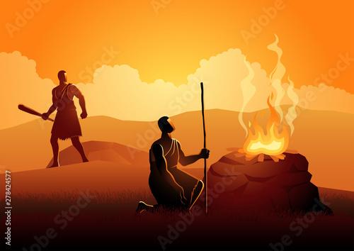 Cain and Abel Fototapeta
