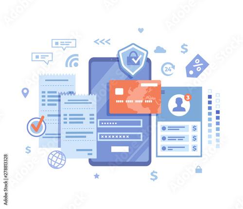 Photo Online Payment Concept