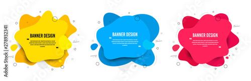 Obraz na płótnie Abstract vector banners