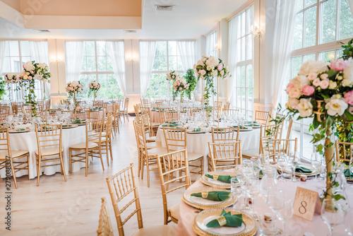 Photographie Luxury wedding table decoration