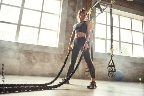 Fotomural CrossFit training