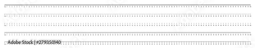 Photo Marking rulers on a white background 100 centimeters various markup options