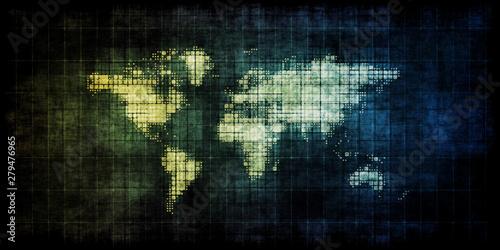 Vászonkép Emerging Markets