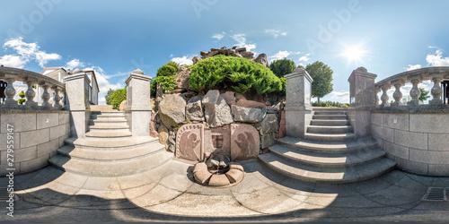 Fotografie, Obraz WASILKOW, POLAND -  JULY 2019: full seamless spherical hdri panorama 360 degrees
