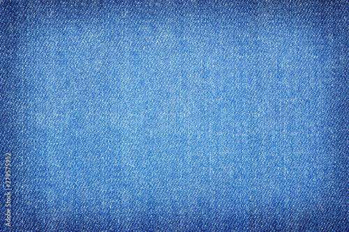 Tablou Canvas Texture of denim or blue jeans background