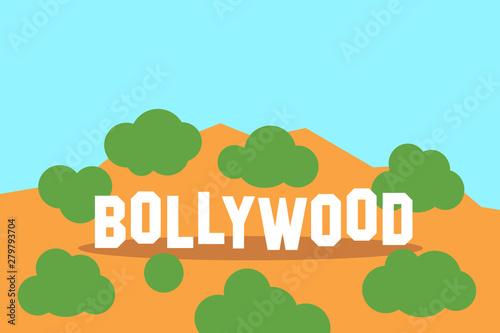 Bollywood - asian film, movie and cinema industry in India Fototapeta