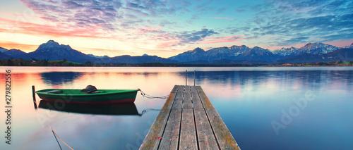 altes Boot am Bergsee