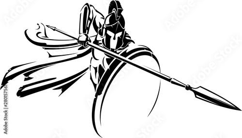 Foto Spartan Spear Defensive Attack