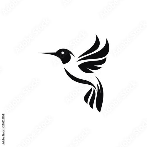 Obraz na płótnie Hummingbird Logo Images