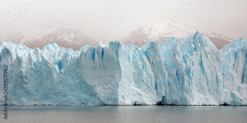 Slika na platnu The Perito Moreno Glacier is a glacier located in the Los Glaciares National Park in the Santa Cruz province, Argentina