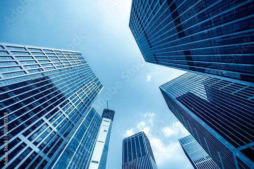 Fototapeta Office tall building