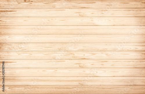 Fototapeta Wood wall  plank brown nature  texture background