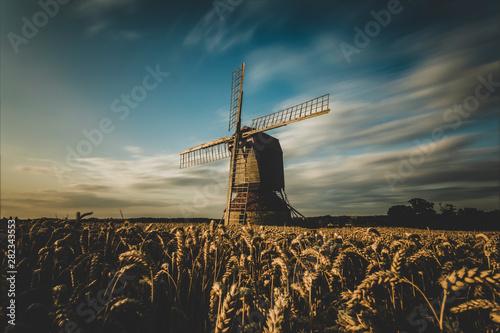 Windmill at harvest