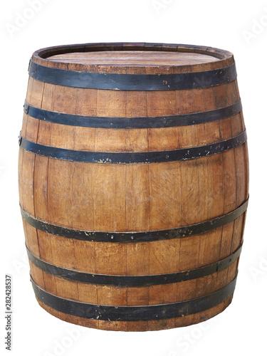 Canvas Print Large antique barrel