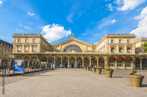 Eastern railway station of Paris, France