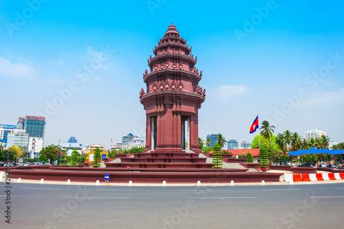 Valokuvatapetti Independence Monument in Phnom Penh