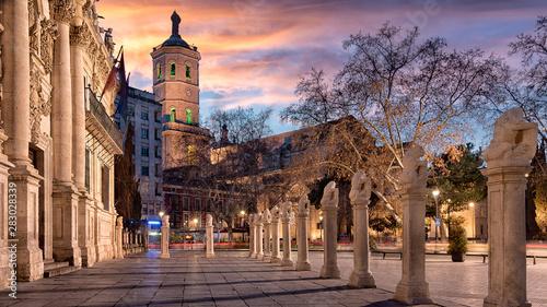 Puesta de Sol en Valladolid