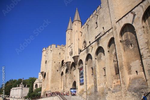 Fototapeta le palais des papes à Avignon