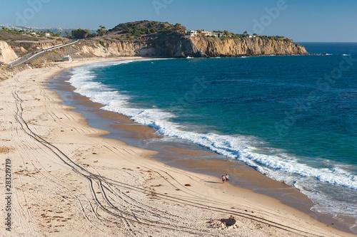 Carta da parati Crystal Cove Beach in southern California