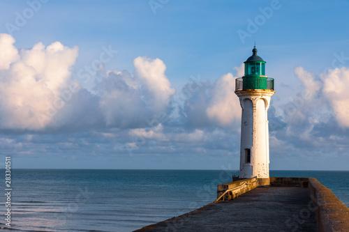 Fotografia Leuchtturm in Sain-Valery-en-Caux in der Normandie