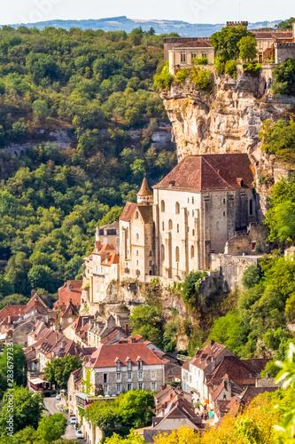 Rocamadour, lot, Dordogne, France Fototapet