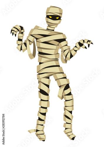 Tablou Canvas Scary mummy figure.