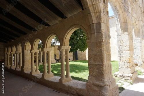 Fotografie, Tablou Cloitre des cordeliers - saint emilion - gironde