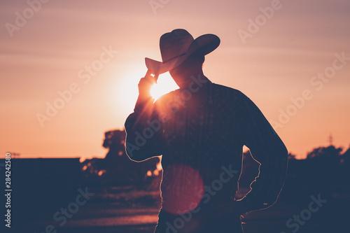 Murais de parede cowboy