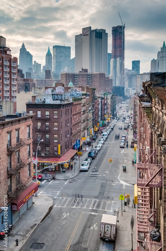 Naklejki na meble Dzielnica Chinatown w Nowym Jorku