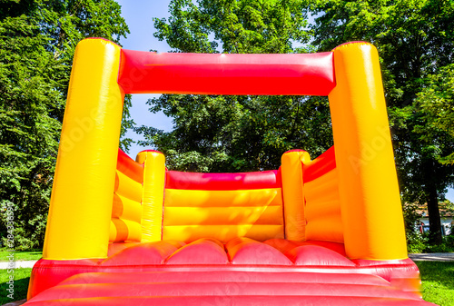 Obraz na płótnie new bouncy castle