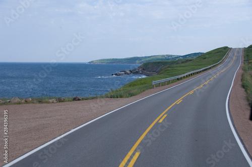 Canada, Nova Scotia, Cape Breton Island, Cabot Trail. Fototapet