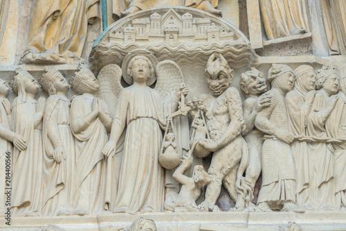 Canvas Print Notre Dame, Paris, France, Europe