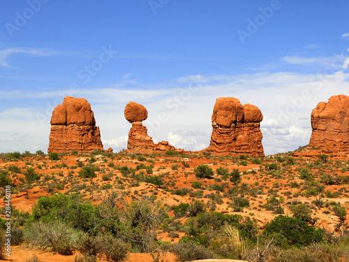 Tela United States, State of Utah, Arches National Park