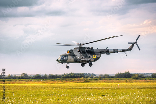 Wallpaper Mural military helicopter MI-8
