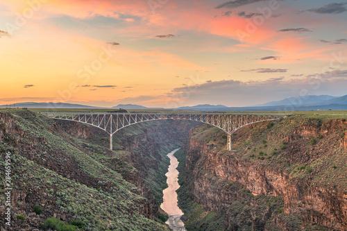 Fotografia Rio Grande Gorge Bridge