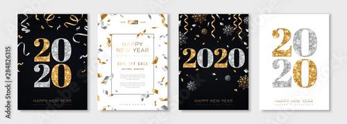 Fotografering 2020 New Year set