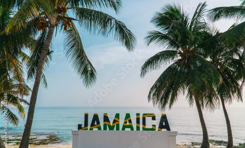 Photo Jamaica sign