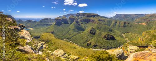 Blyde river canyon Three rondavels viewpoint