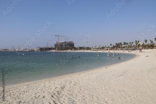 Canvastavla Plage à Dubaï, Émirats arabes unis