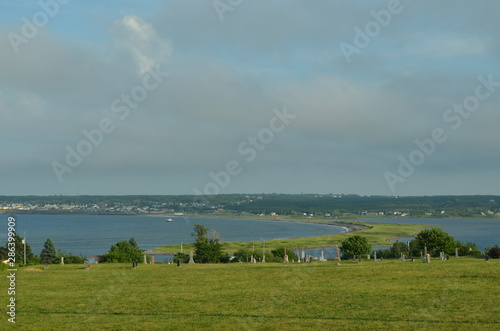 Photo Summer in Nova Scotia: Overlooking Indian Bay to Dominion Beach Provincial Park