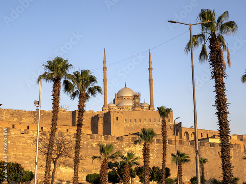 Fotografia The Mohammed Ali Mosque is a landmark of the city of Cairo, Egypt