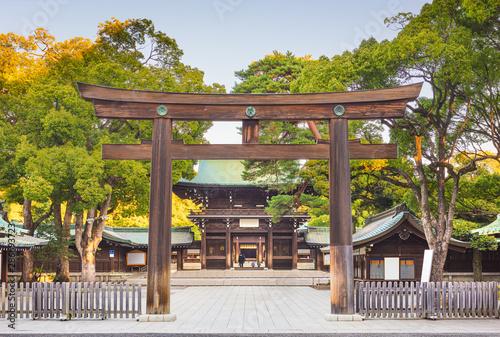 Meiji Shrine in Tokyo, Japan. Fototapeta