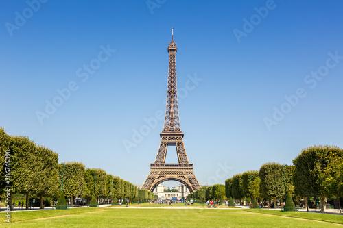 Fototapeta Paris Eiffel tower France travel landmark