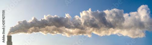 Foto Schornstein, Rauch, Luftverschmutzung, Qualm, Klimawandel, Umweltverschmutzung,