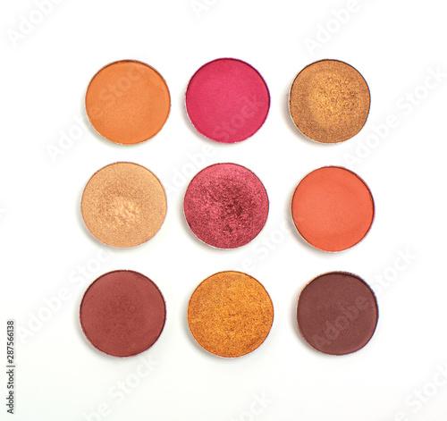 Canvas-taulu Set of eyeshadow refill