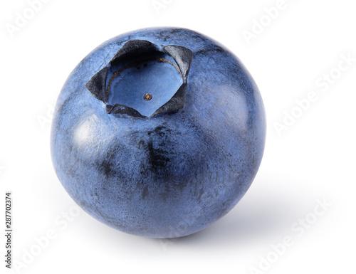 Fotografia, Obraz Blueberry isolated